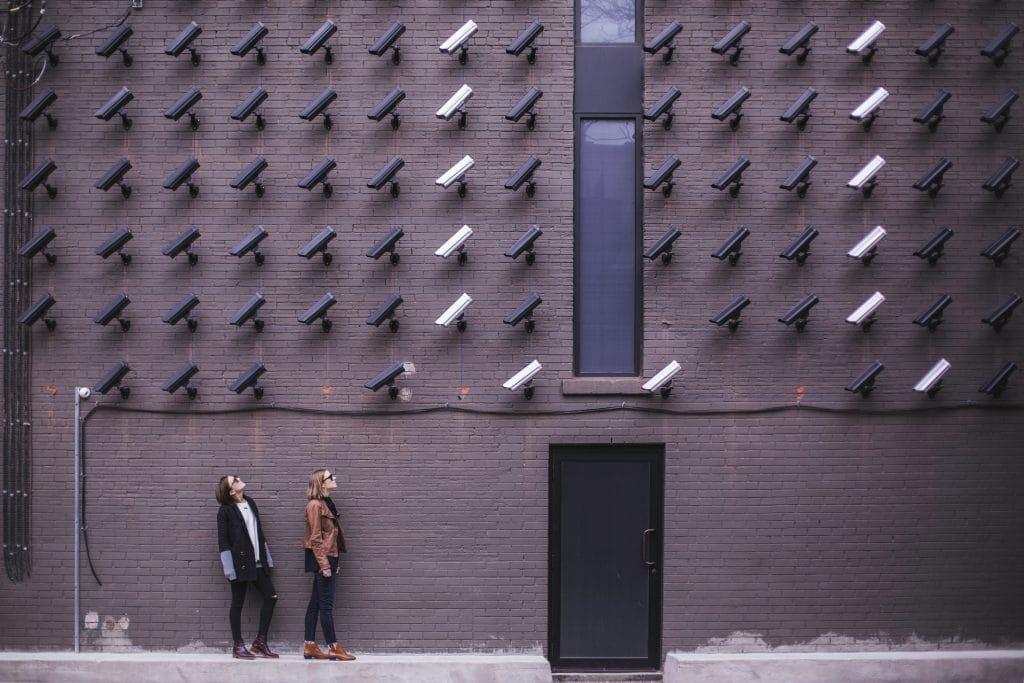 Camera Detecting Humans