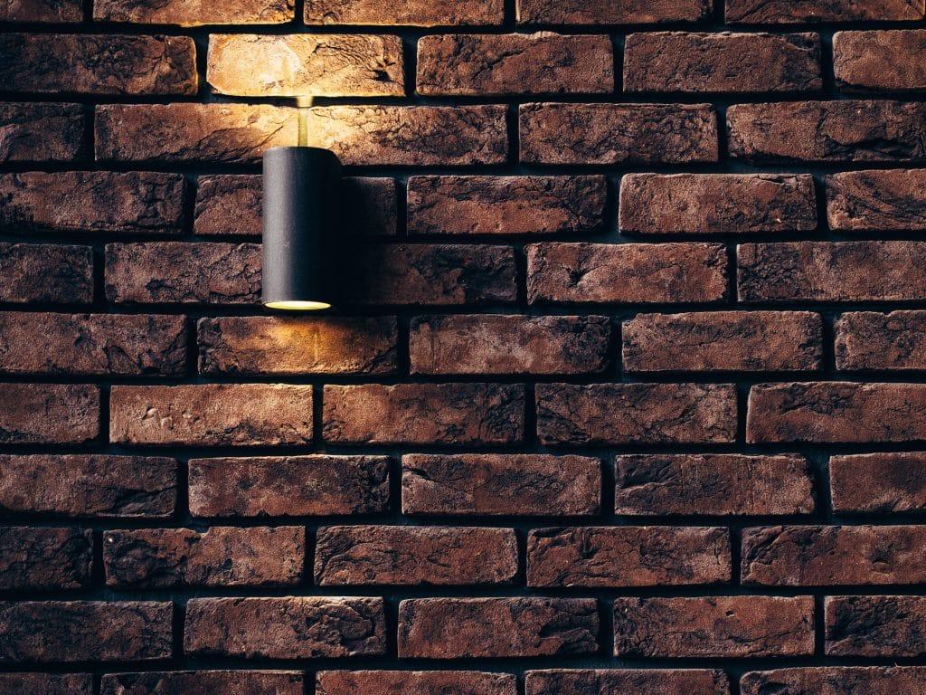 Brick Wall With Light
